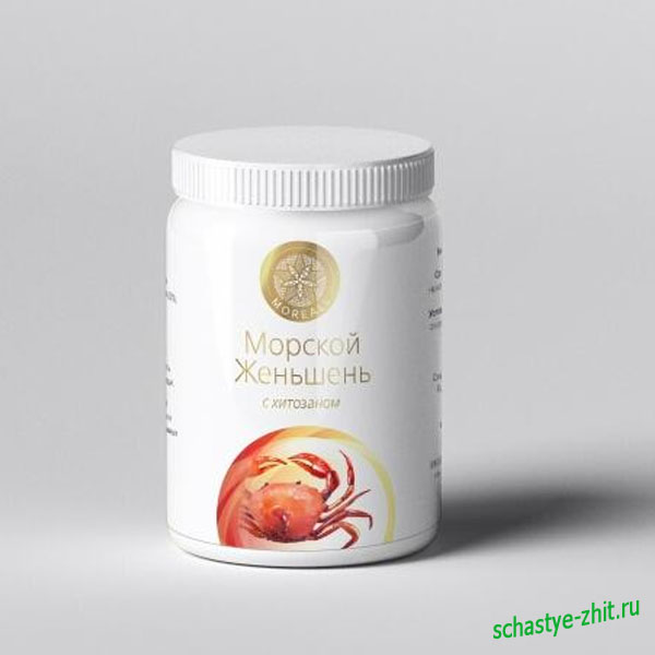 Функциональное питание из морского женьшеня